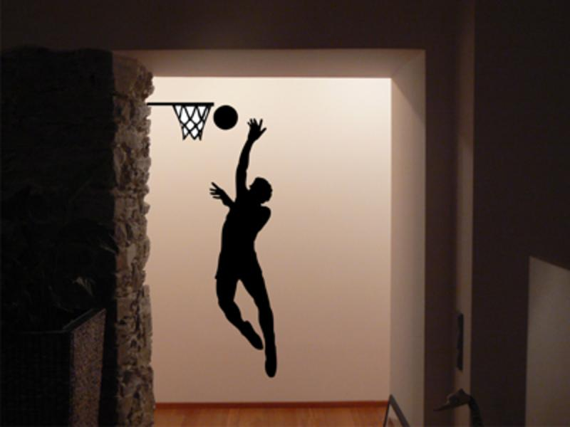Basketball Wandtattoo