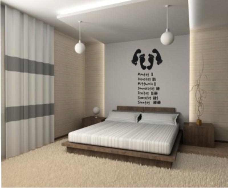 Strichliste Wandtatoo - Wandtattoo Schlafzimmer & Wandtattoos