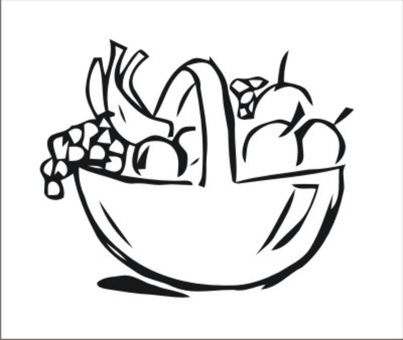 obstkorb wandmotiv - wandtattoo küche - wandtattoo rezepte günstig