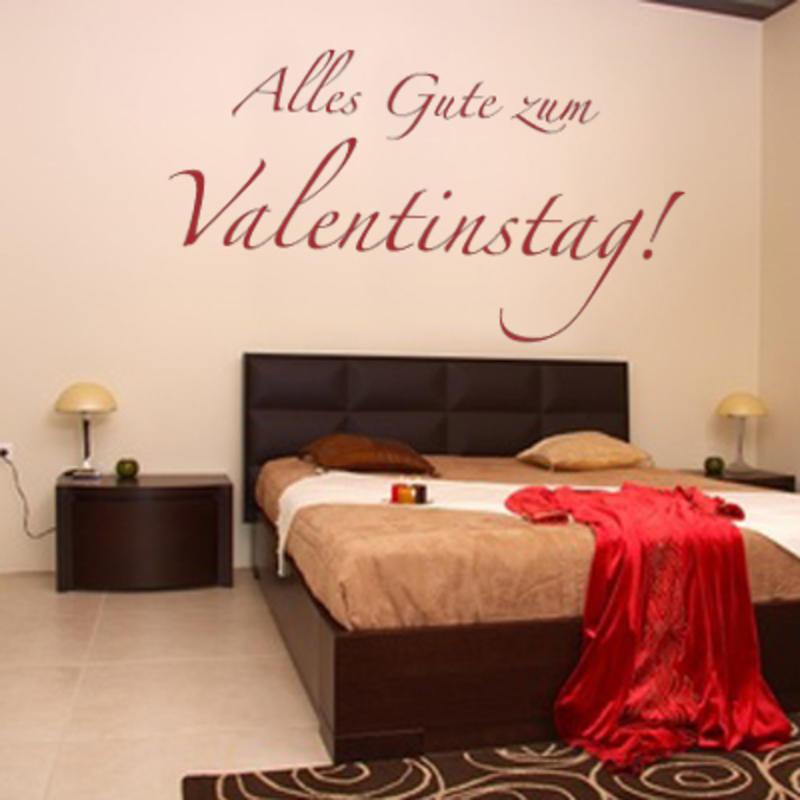 Alles Gute Zum Valentinstag Wandaufkleber Bild 1 ...