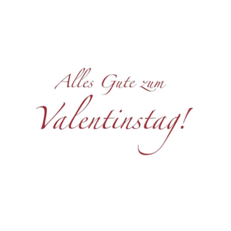Alles Gute Zum Valentinstag Wandaufkleber Bild 1 Alles Gute Zum Valentinstag  Wandaufkleber Bild 2