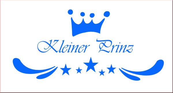 kleiner prinz wandsticker wandtattoo kinderzimmer wandtattoos kinderz. Black Bedroom Furniture Sets. Home Design Ideas