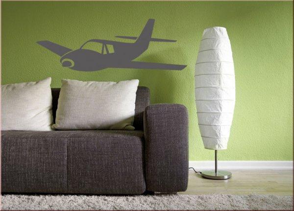 flugzeug wandtattoo wandtattoo wohnzimmer wandtattoos. Black Bedroom Furniture Sets. Home Design Ideas